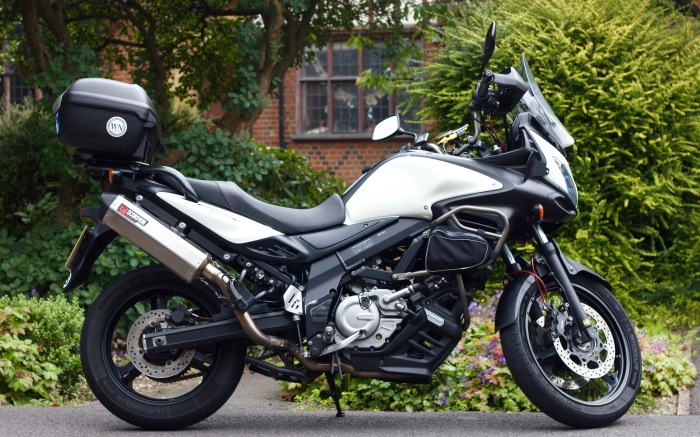 Introducing the world's first Suzuki V-Strom 650...R!