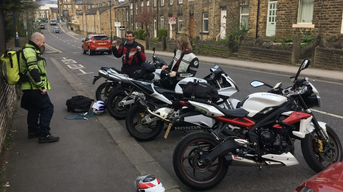 Motorcycles in Yorkshire