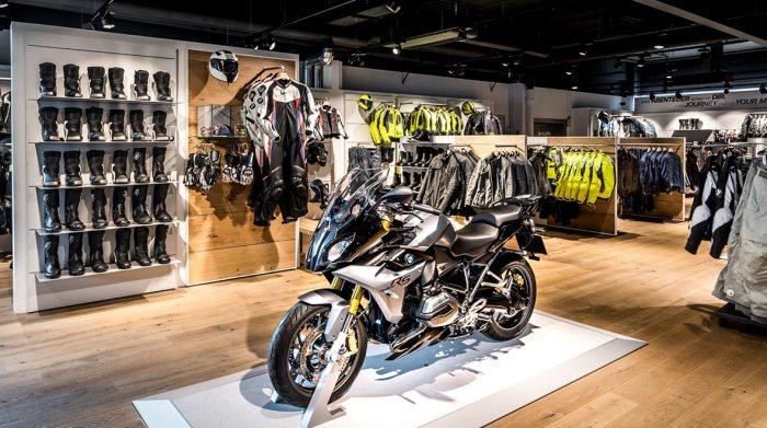 BMW Motorcycle Showroom