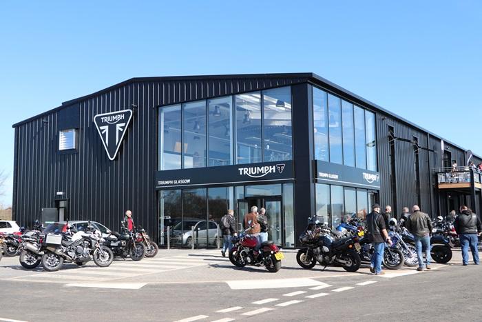 Triumph Motorcycle Showroom