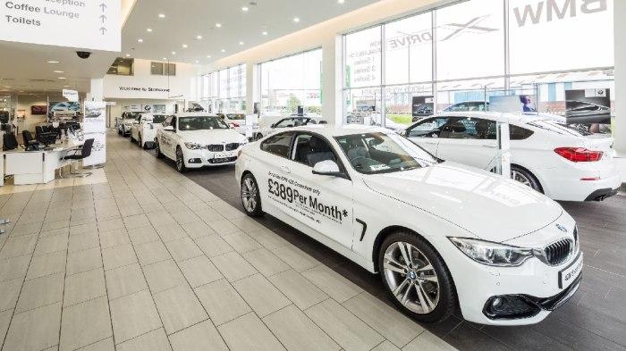 BMW Car Showroom