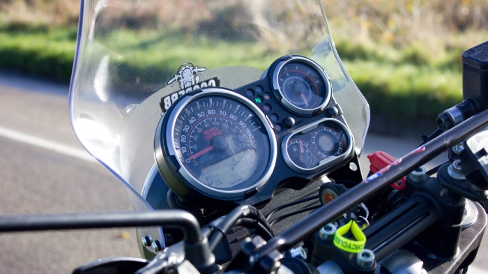 Royal Enfield Himalayan Dashboard