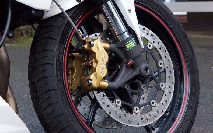 Street Triple R Brakes