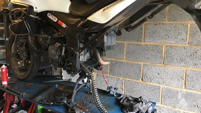 V-Strom Stripped